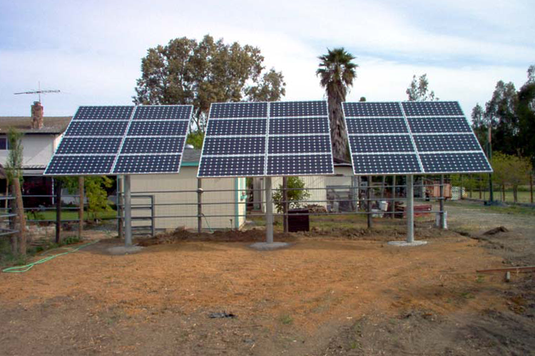 Solar Ground Mount Systems Sky Power Solar Tri Valley Ca