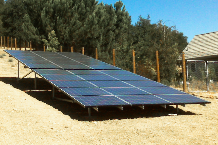 Solar Ground Mount Systems | Sky Power Solar | Tri Valley CA
