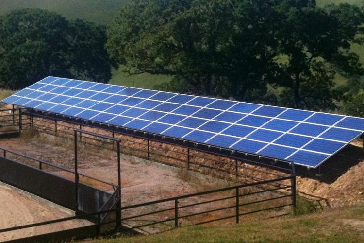 Solar Ground Mount Systems | Sky Power Solar | Tri Valley CA