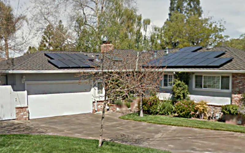 residential solar installation, gallery, howard