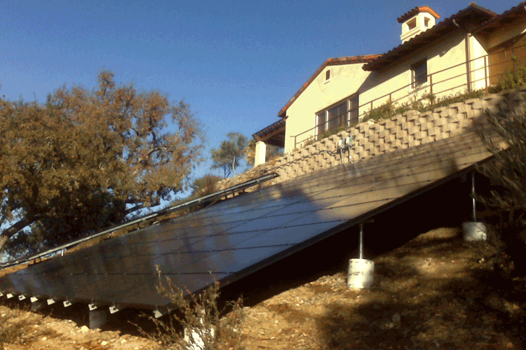 Solar Ground Mount System - 15.1 kW Mt. Alamo