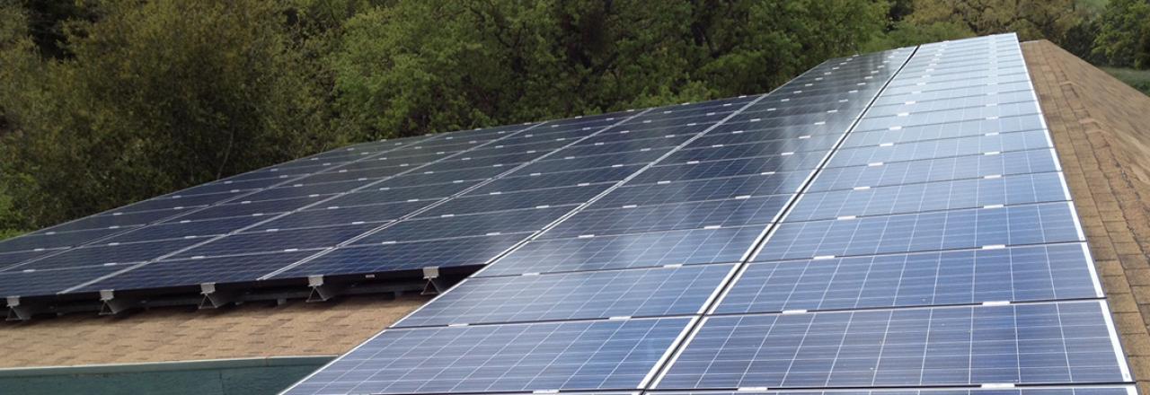 athenian solar install