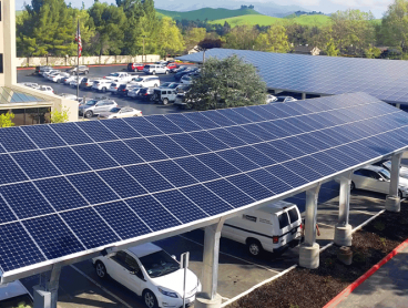 commercial solar power system carport