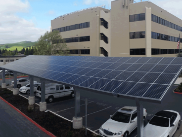 commercial solar installation, commercial gallery ccmc staff array
