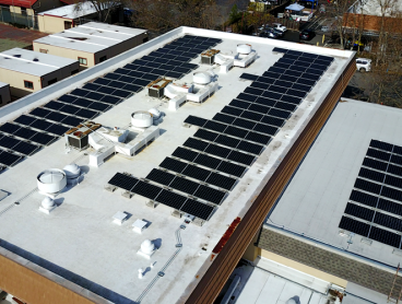 commercial solar on roof