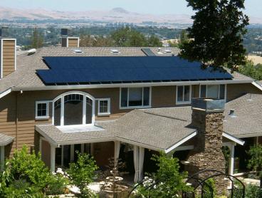 martoglio solar power system on home