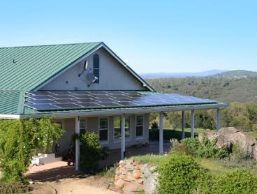 residential solar power system installation