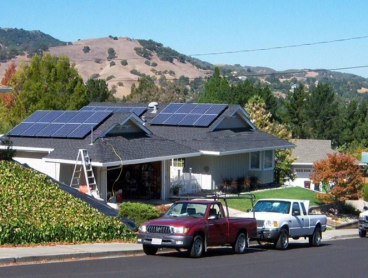 solar power system residential install