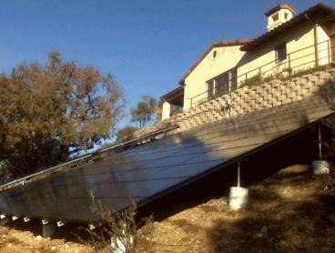 solar ground mounted system alamo