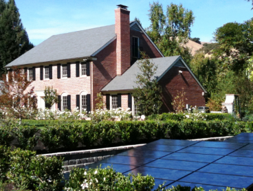 ground mounted residential solar power system