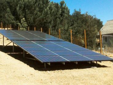 solar power system ground mounted pleasanton