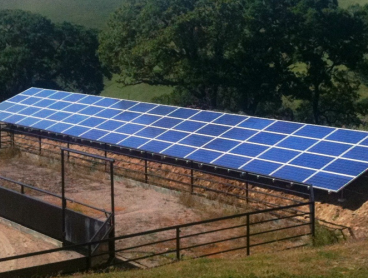 ground mounted solar system rao